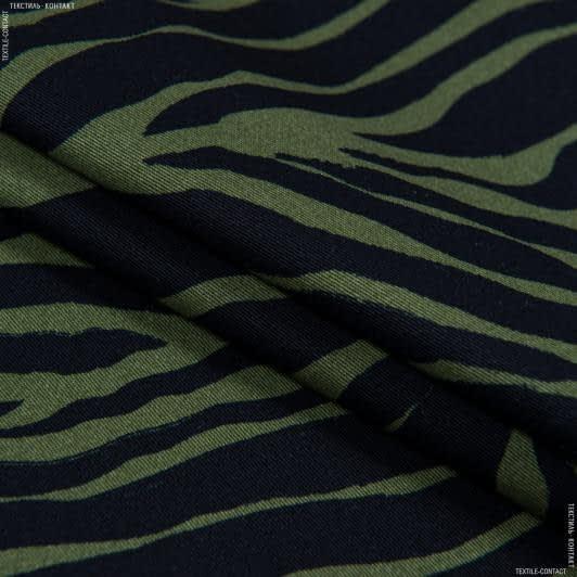 Ткани для костюмов - Коттон твил принт