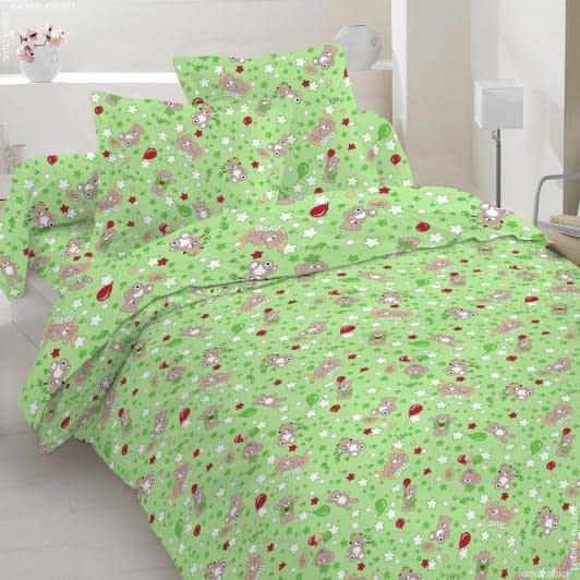 Ткани для детского постельного белья - Бязь набивная голд нт детская