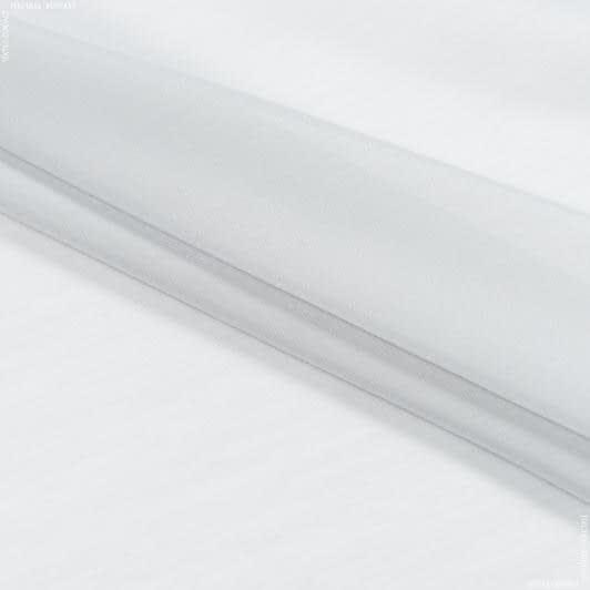 Тканини для драпірування стін і стель - Тюль батист з обважнювачем порто св.сірий
