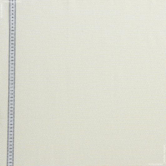 Ткани для детской одежды - Экокоттон ася горошки жёлтые, фон белый