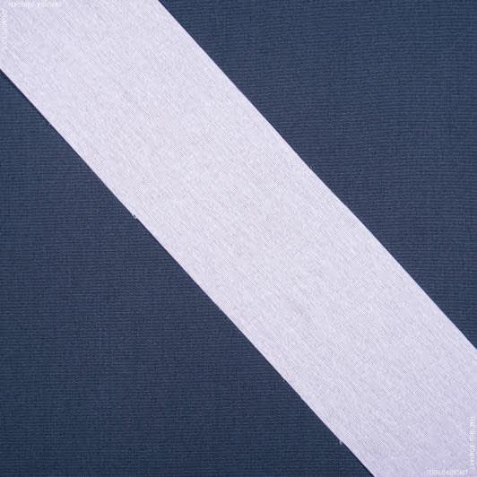 Ткани тесьма - Тесьма клеевая 100мм, матовая под люверсы