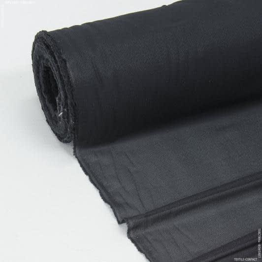 Тканини дублірин, флізелін - Дублірин еласт. чорний 39г/м
