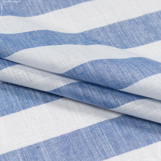 Ткани для платьев - Сорочечная в полоску