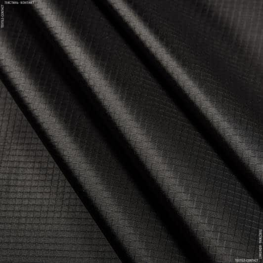Тканини для наметів - Ріп-стоп курточний чорний