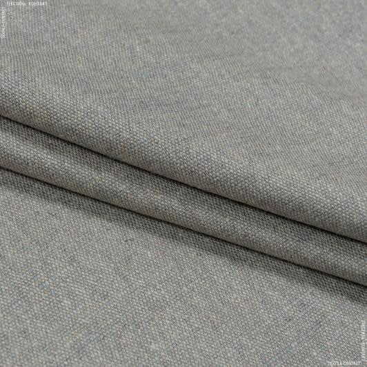 Тканини портьєрні тканини - Декоративна тканина танамі сірий