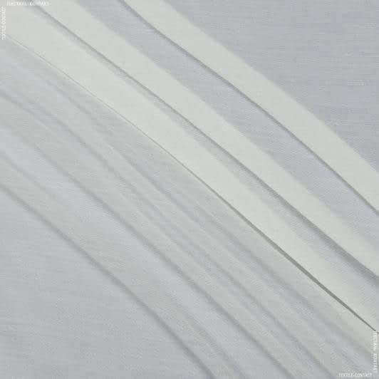 Ткани гардинные ткани - Тюль с утяжелителем   грета крем