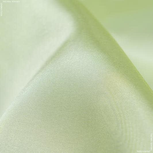 Тканини гардинні тканини - Мікровуаль ламія однотон. зелене яблуко