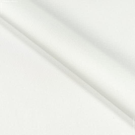 Ткани для платьев - Шелк искусственный стрейч белый