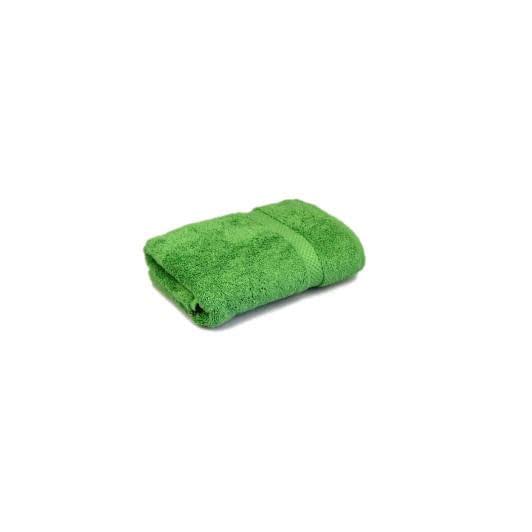 Ткани махровые полотенца - Полотенце пахровое зеленое 40х70 см