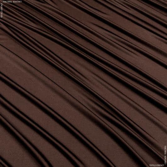 Тканини для суконь - Трикотаж жасмін коричневий