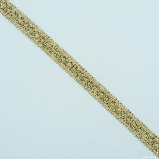 Тканини фурнітура для дома - Тесьма окант. Солар оливка