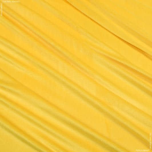 Ткани для детской одежды - Плюш (вельбо) желтый