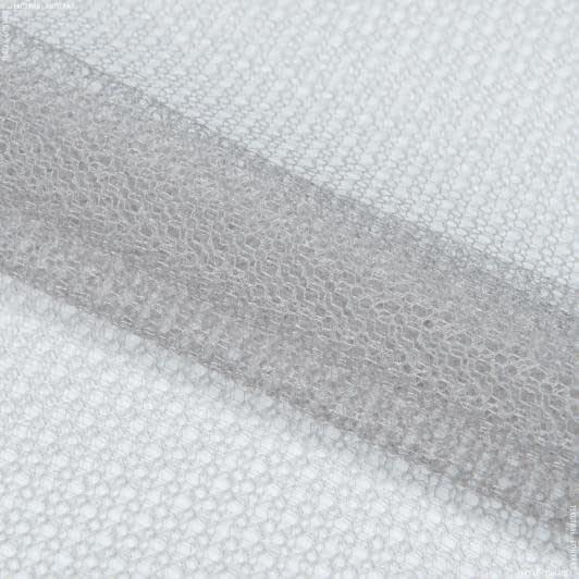 Ткани гардинные ткани - Гардинное полотно гипюр  талия  серый
