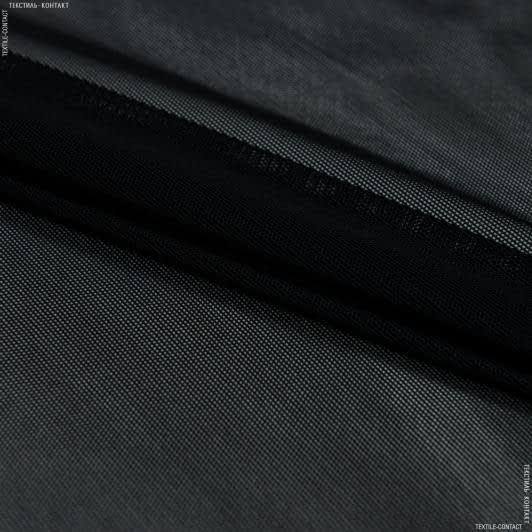 Тканини для спортивного одягу - Сітка стрейч чорний