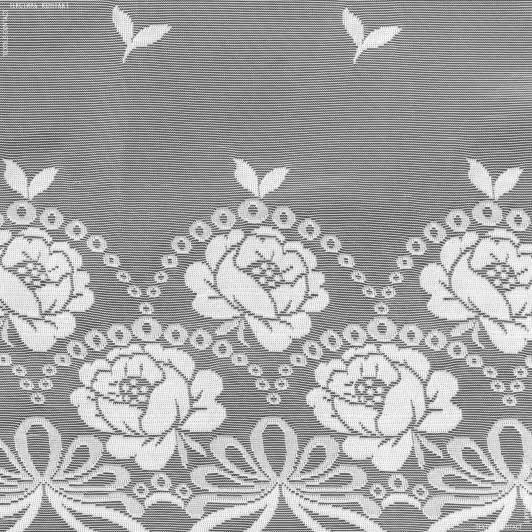 Ткани гардинные ткани - Гардинное полотно фиранка розочка