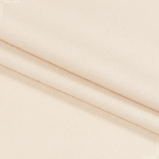 Ткани для верхней одежды - Пальтовый кашемир кремовый