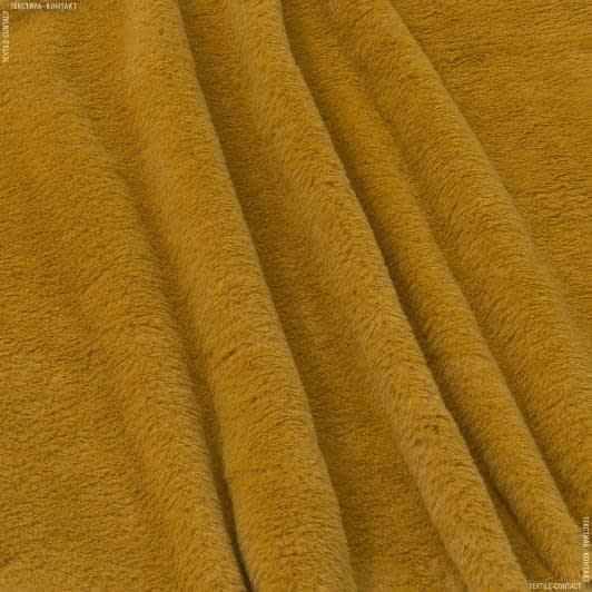 Ткани для верхней одежды - Мех лайт софт рыжий