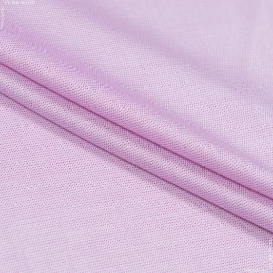 Тканини для хусток та бандан - Сорочкова testa рогожка рожевий