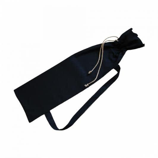 Ткани экосумка - Сумка Багет бязь черный 74х24
