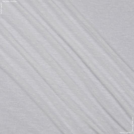 Ткани гардинные ткани - Тюль   батист с утяжелителем    малбери молочный