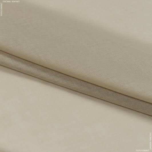 Тканини для драпірування стін і стель - Тюль  батист  люсент/lucent беж