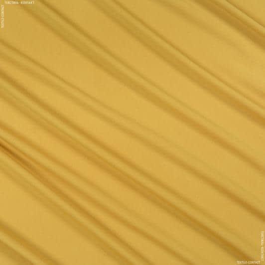 Ткани для платьев - Трикотаж масло горчичный