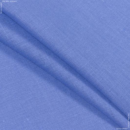 Тканини для штанів - Льон бузково-блакитний