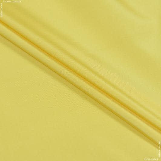 Ткани для спортивной одежды - Плащевая фортуна желтый