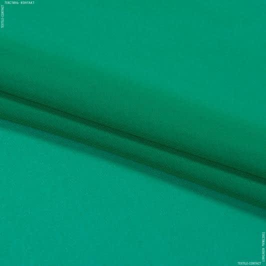 Ткани для платков и бандан - Шифон мульти зеленый