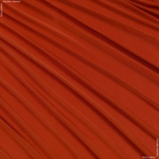 Тканини для суконь - Трикотаж масло цегельний