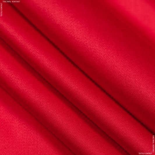 Тканини для штанів - Костюмний сатин віскозний червоний
