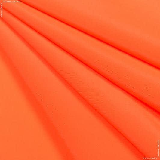 Ткани для платков и бандан - Креп кошибо ярко-оранжевый
