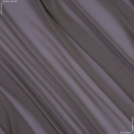 Тканини для хусток та бандан - Шифон натуральний стрейч темно-бежевий