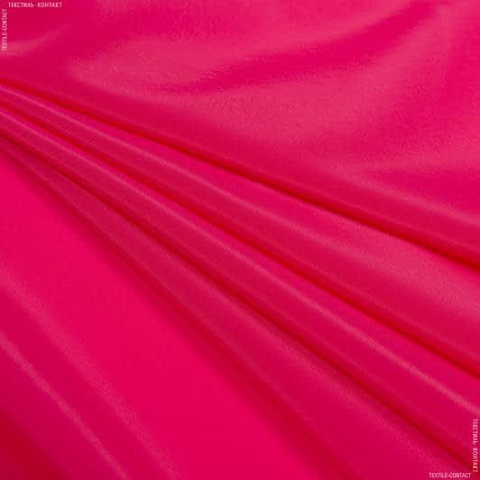 Ткани для платков и бандан - Креп кошибо малиновый