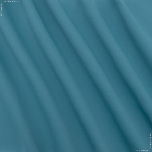 Ткани портьерные ткани - БЛЕКАУТ ОДНОТОННЫЙ/ BLACKOUT МОРСКАЯ ВОЛНА-2  ПОЛОСАТОСТЬ