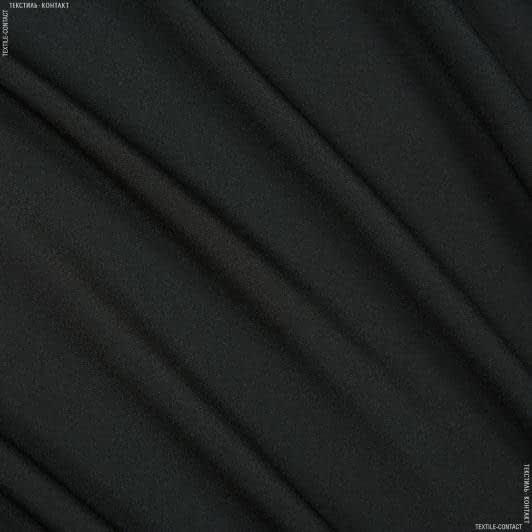 Ткани креп - Крепдешин черный
