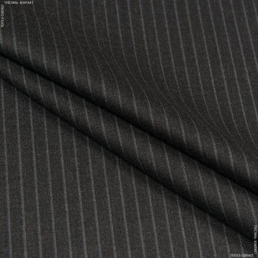 Ткани для брюк - Костюмная браян темно-серый