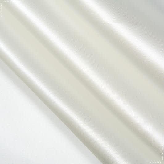 Тканини для костюмів - Атлас щільний молочний