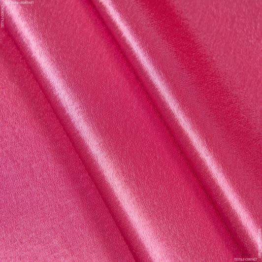 Тканини для банкетних і фуршетніх спідниць - Креп-сатин малиновий