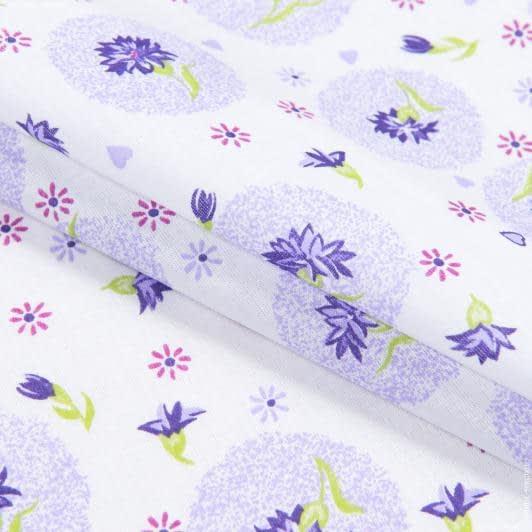 Тканини для сорочок і піжам - Ситець 67-ткч фіолетовий