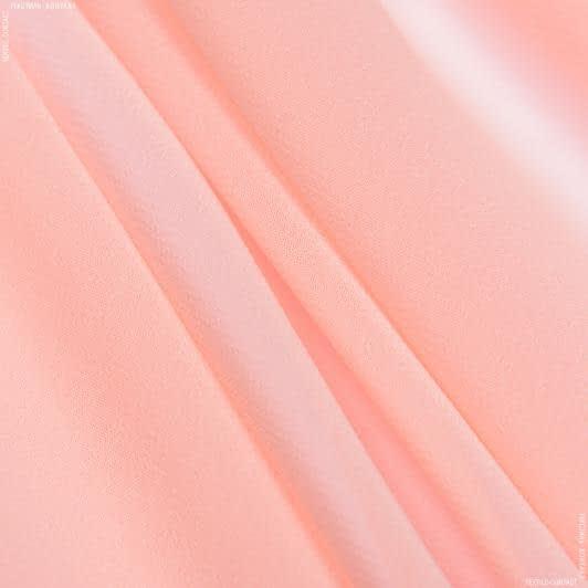 Тканини для хусток та бандан - Шифон мульті персиковий
