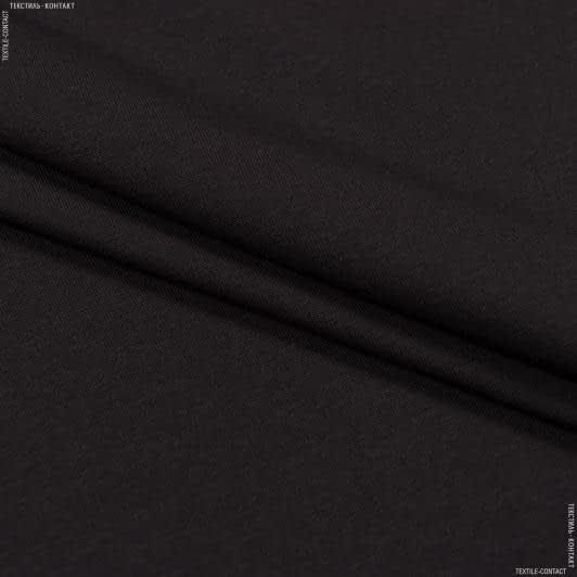 Ткани для платьев - Кулир- стрейч penye  коричневый