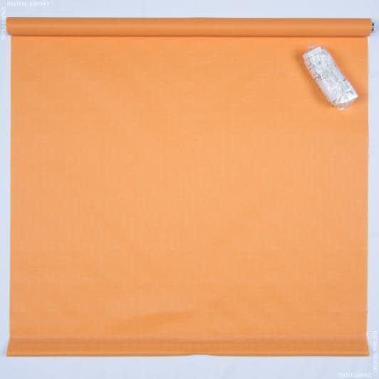 Тканини ролети - Роллет міні фактурний помаранчевий 72.5х150