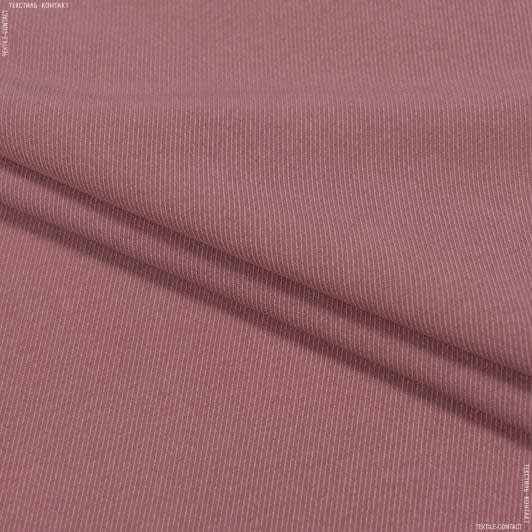 Ткани для платьев - Плательная диагональ темно-фрезовый