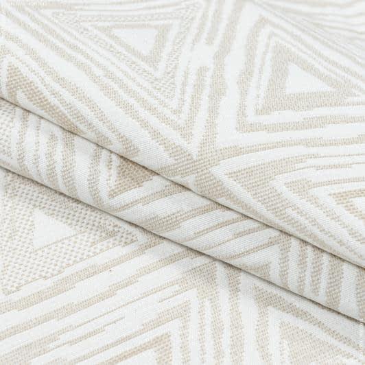 Ткани портьерные ткани - Декоративная ткань  брюссель треуголник  беж