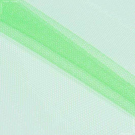 Тканини для блузок - Фатин жорсткий салатовий