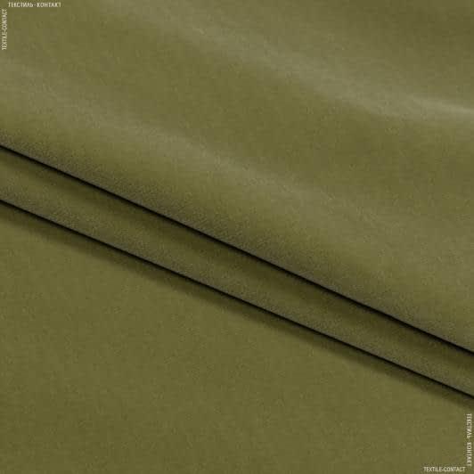 Тканини для меблів - Велюр белфаст/ belfast / оливка сток