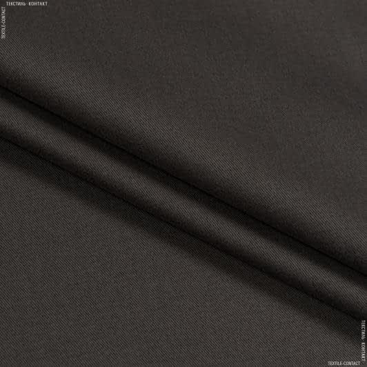 Ткани для банкетных и фуршетных юбок - Декоративный сатин  гандия/gandia кофе