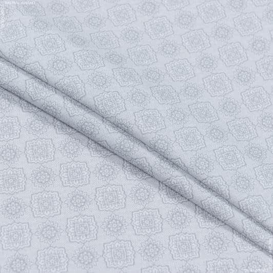 Тканини для хусток та бандан - Сорочкова tessitrama принт світло-сірий