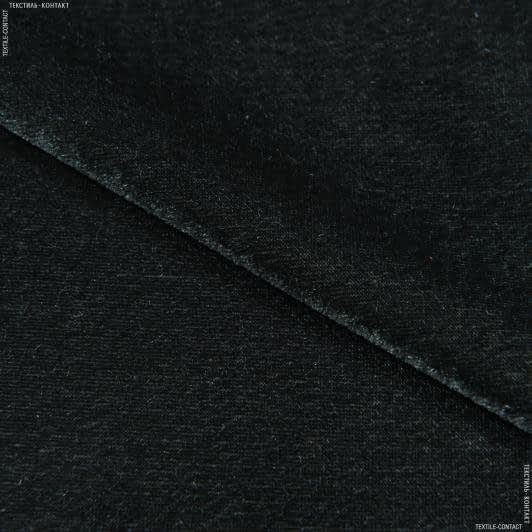 Ткани для платьев - Велюр стрейч палево-серый